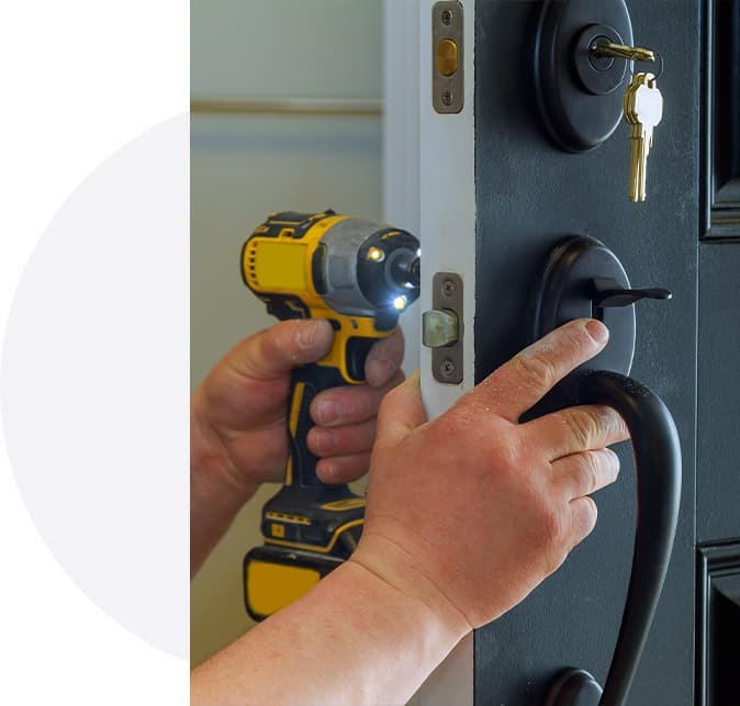 Fitting new Front Door Lock
